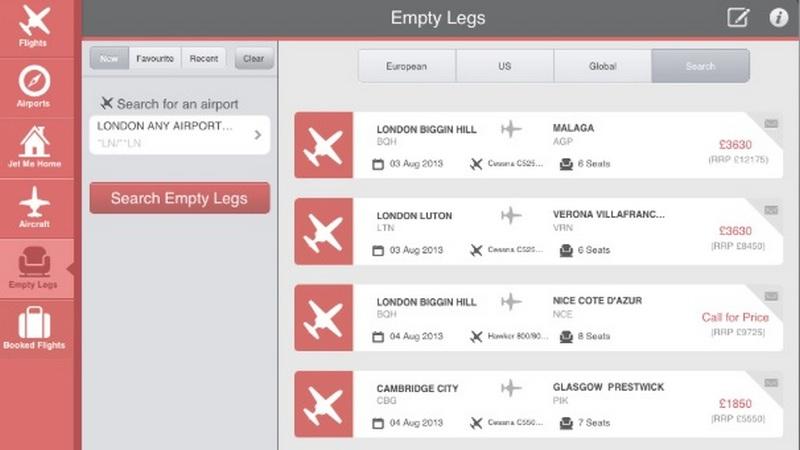 ماذا تعني Empty legs؟