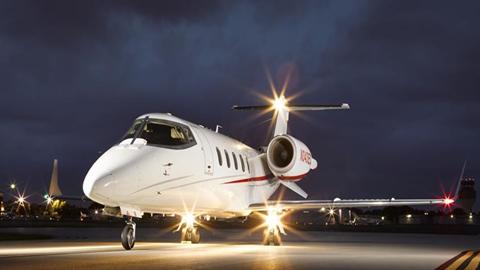 Learjet 60XR,   Midsize