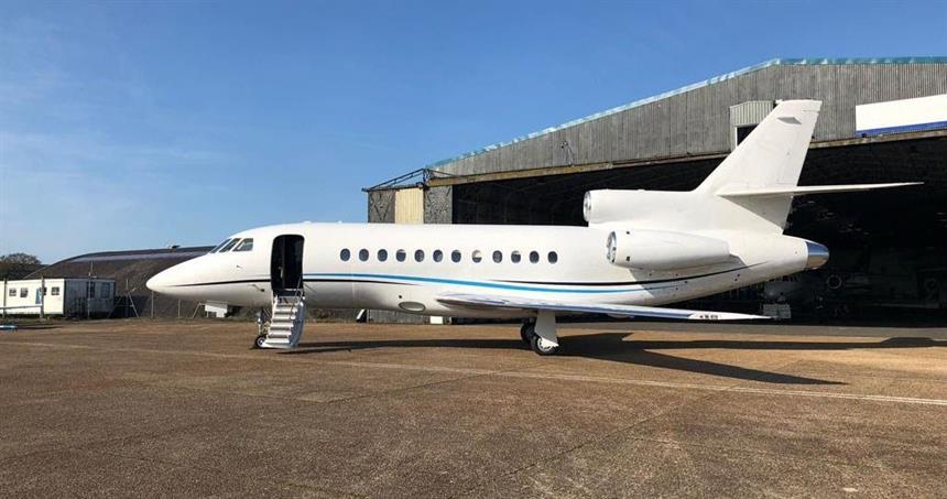 Falcon 900B,   Heavy Jet